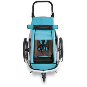 Croozer Sonnenschutz für Kid Plus for 1 sky blue